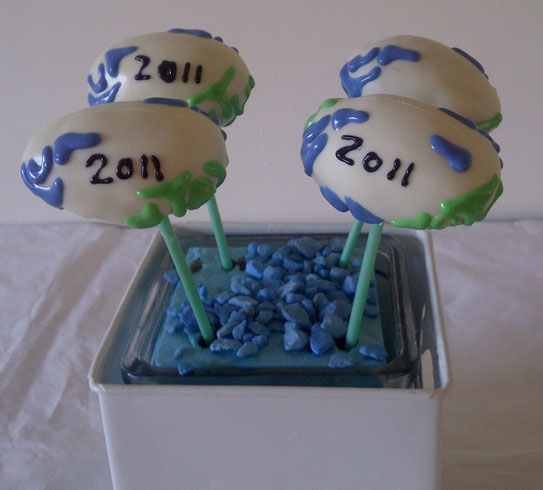 how to make rugby ball cake pops