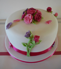 Wedding - Rose Cake
