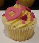 Heart Cupcakes - Weddings