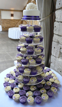 Butterfly Cupcake Tower - Weddings
