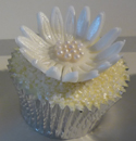 Wedding - Silver & White Cupcakes