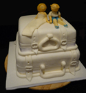 Suitcase Cake - Weddings